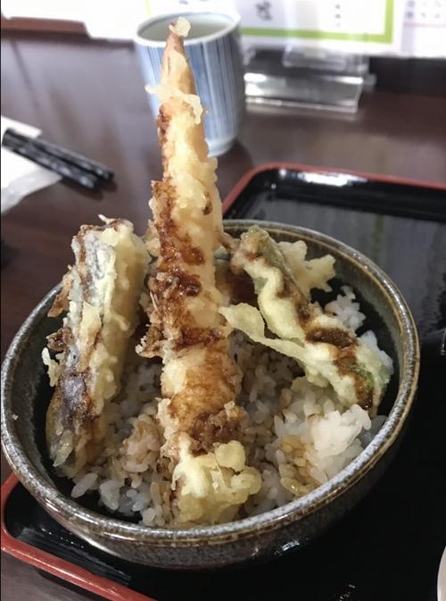 蕎麦忠 (そばちゅう)の天丼