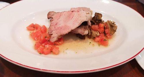 レスタミネエマの豚肉